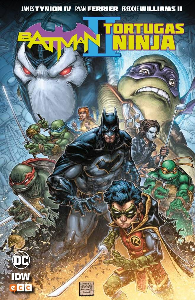 Batman/Tortugas Ninja II | N1018-ECC07 | James Tynion IV, Freddie Williams II | Terra de Còmic - Tu tienda de cómics online especializada en cómics, manga y merchandising