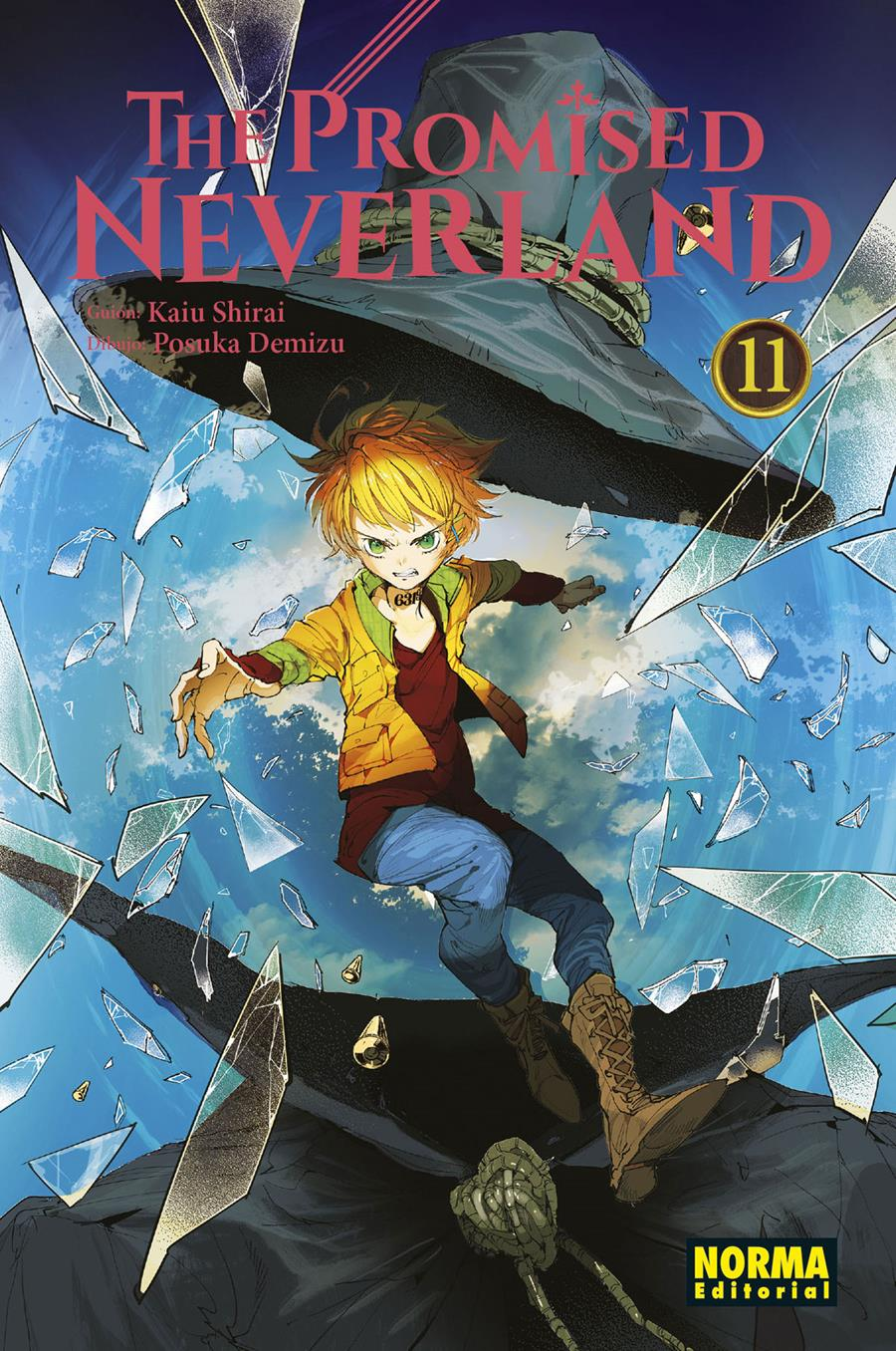 The promised neverland 11 | N0420-NOR21 | Kaiu Shirai, Posuka Demizu | Terra de Còmic - Tu tienda de cómics online especializada en cómics, manga y merchandising