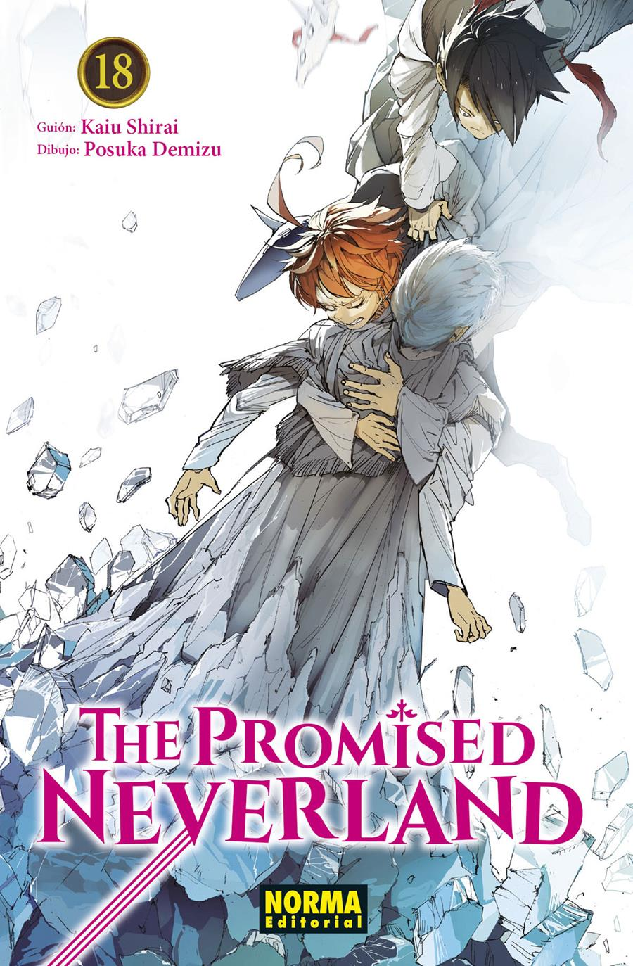 The promised neverland 18 | N0421-NOR21 | Kaiu Shira, Posuka Demizu | Terra de Còmic - Tu tienda de cómics online especializada en cómics, manga y merchandising