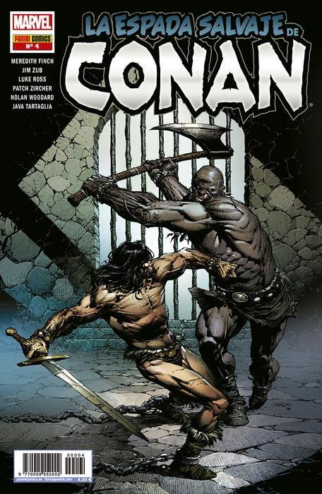 La Espada Salvaje de Conan 4 | N1119-PAN31 | Luke Ross, Jim Zub, Meredith Finch, Patch Zircher | Terra de Còmic - Tu tienda de cómics online especializada en cómics, manga y merchandising