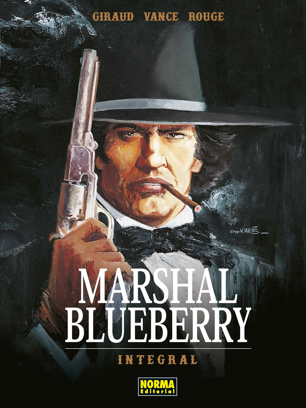 Marshal Blueberry. Edición Integral | N0119-NOR05 | Jean Giraud, William Vance,  Michel Rouge | Terra de Còmic - Tu tienda de cómics online especializada en cómics, manga y merchandising