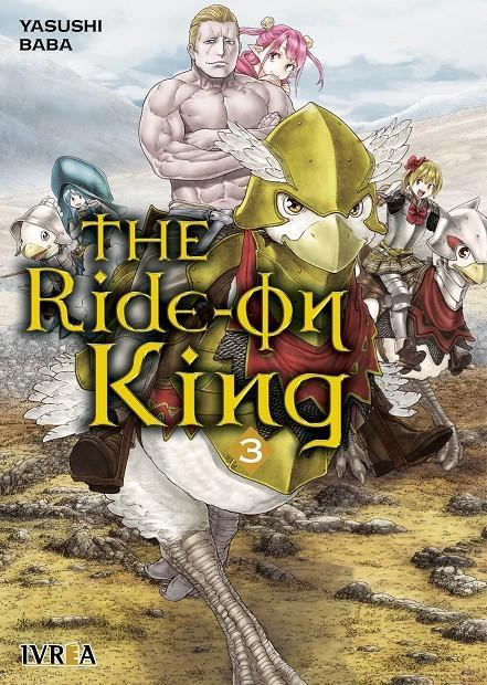The ride-on king 03 | N0920-IVR09 | Yasushi Baba | Terra de Còmic - Tu tienda de cómics online especializada en cómics, manga y merchandising
