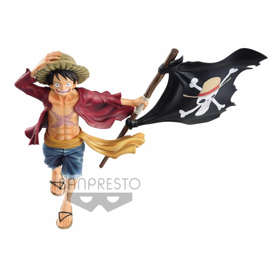 MONKEY D LUFFY 20TH ANNIVERSARY FIGURA 22 CM ONE PIECE MAGAZINE | N1119-MERCH03 | Terra de Còmic - Tu tienda de cómics online especializada en cómics, manga y merchandising