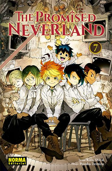 The Promised Neverland 7 | N0619-NOR22 | Kaiu Shirai, Posuka Demizu | Terra de Còmic - Tu tienda de cómics online especializada en cómics, manga y merchandising