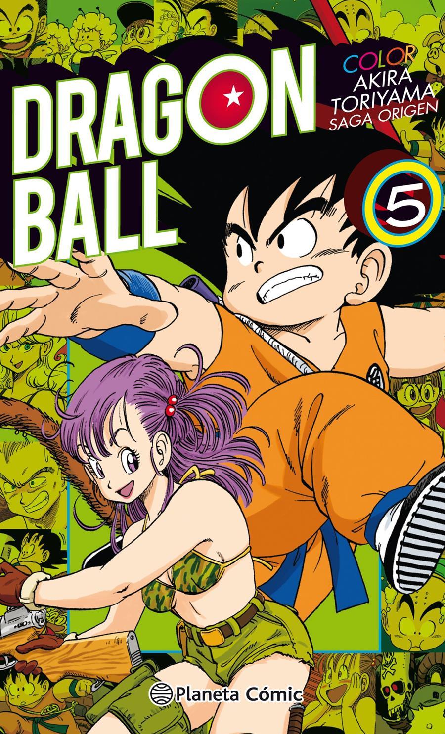 Dragon Ball Color Origen y Red Ribbon nº 05/08 | N0118