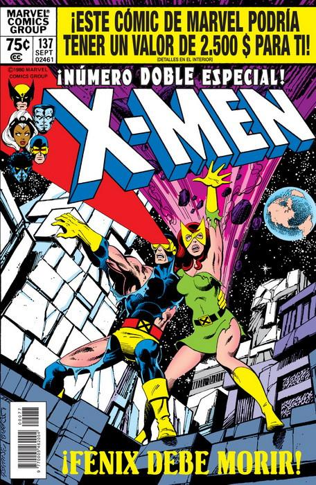 Marvel Facsímil. The X-Men 137 | N0219-PAN40 | John Byrne, Chris Claremont | Terra de Còmic - Tu tienda de cómics online especializada en cómics, manga y merchandising