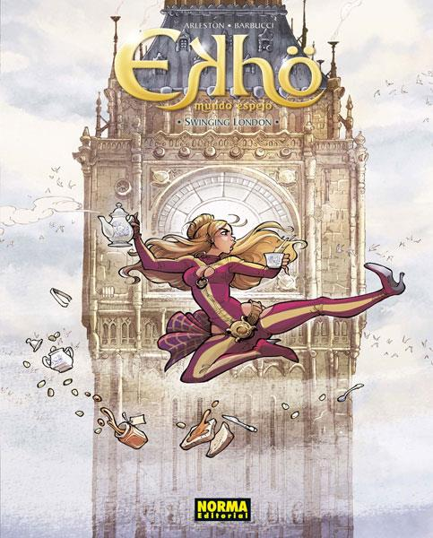 Ekhö 7. Swinging London | N0119-NOR09 | Arleston, Barbucci | Terra de Còmic - Tu tienda de cómics online especializada en cómics, manga y merchandising