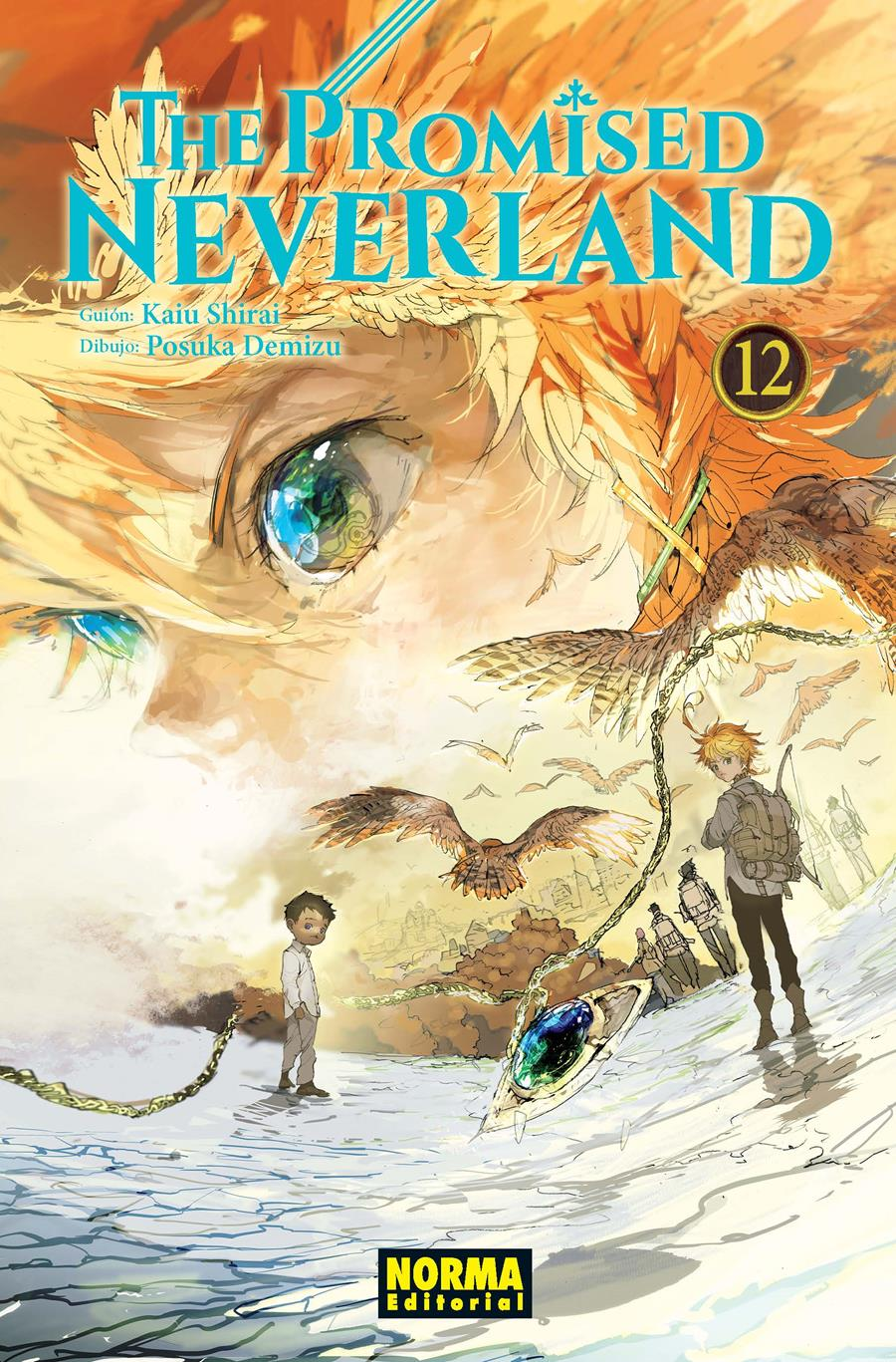 The promised neverland 12 | N0720-NOR25 | Kaiu Shirai, Posuka Demizu | Terra de Còmic - Tu tienda de cómics online especializada en cómics, manga y merchandising