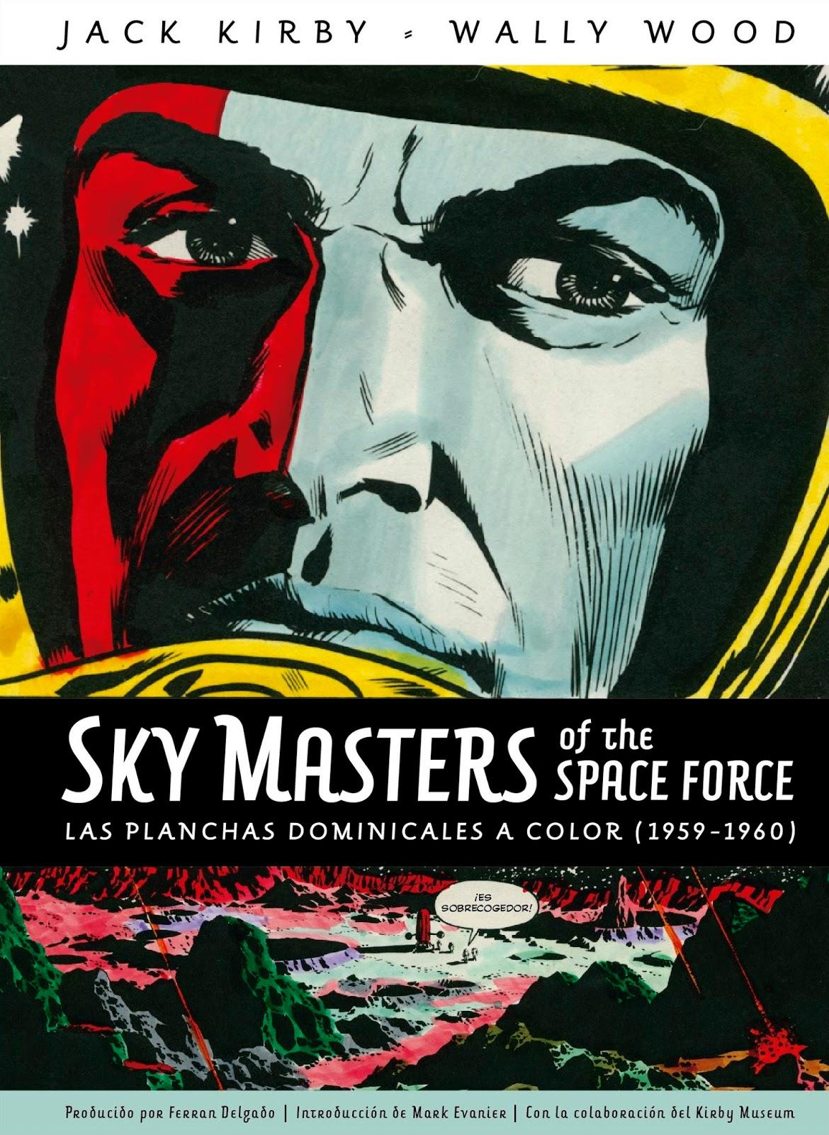 Sky Masters of the Space Force. Las planchas dominicales a color | Terra de Còmic - Tu tienda de cómics online especializada en cómics, manga y merchandising
