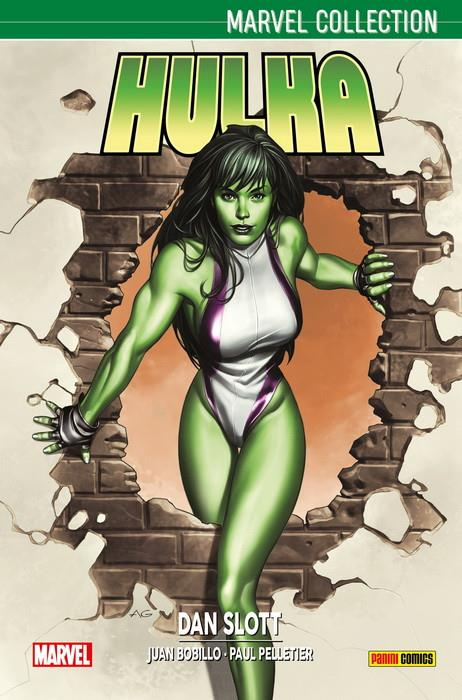Marvel Collection. Hulka de Dan Slott 1 | N0518-PAN30 | Paul Pelletier, Dan Slott, Juan Bobillo | Terra de Còmic - Tu tienda de cómics online especializada en cómics, manga y merchandising