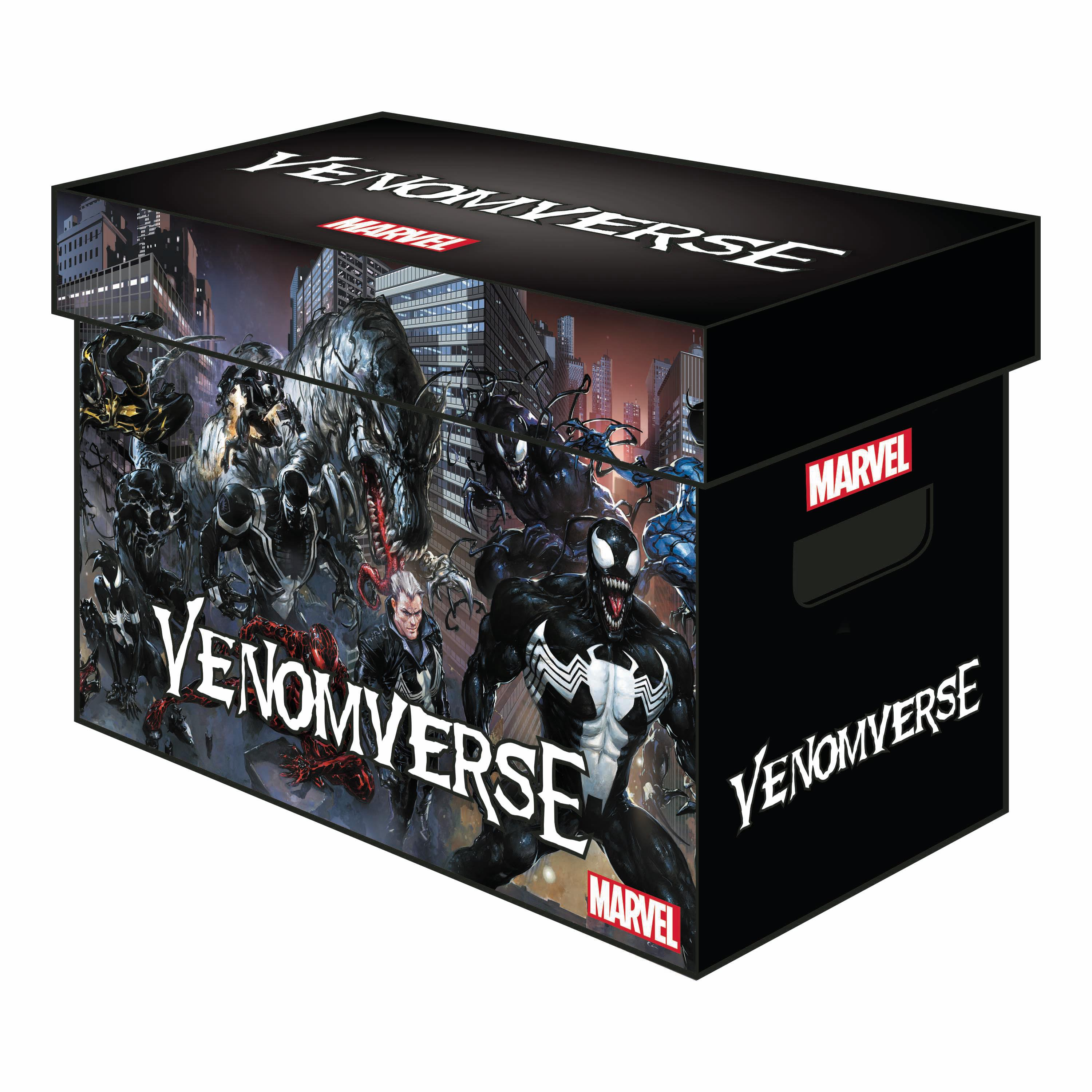 Caja Marvel Graphic Comic Boxes Venomverse | N1117-MERCH02 | Marvel Comics | Terra de Còmic - Tu tienda de cómics online especializada en cómics, manga y merchandising
