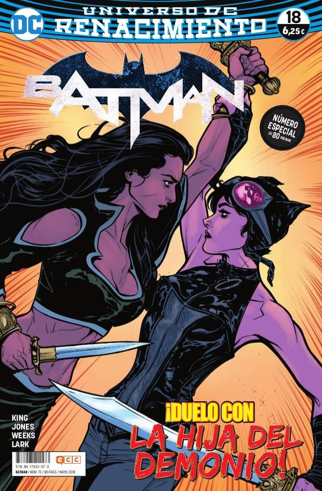 Batman núm. 73/ 18 (Renacimiento) | N0518-ECC01 | Tom King, Joëlle Jones, Lee Weeks | Terra de Còmic - Tu tienda de cómics online especializada en cómics, manga y merchandising