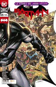 Batman núm. 110/ 55 | N0521-ECC20 | Carlo Pagulayan / David Lafuente / Guillem March / James Tynion IV / James Stokoe / John Ridley / Jorge Jiménez / Joshua Williamson / Laura Braga / Olivier Coipel / Sam Johns | Terra de Còmic - Tu tienda de cómics online especializada en cómics, manga y merchandising